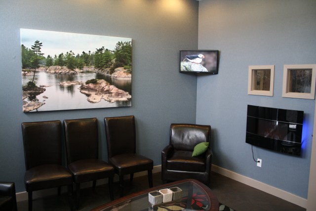 Waiting Room at Doonsouth Kitchener Dental Office