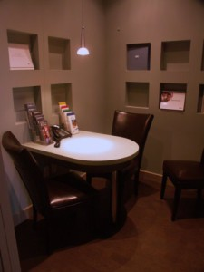 Consultation Room at Doonsouth Kitchener Dental Office